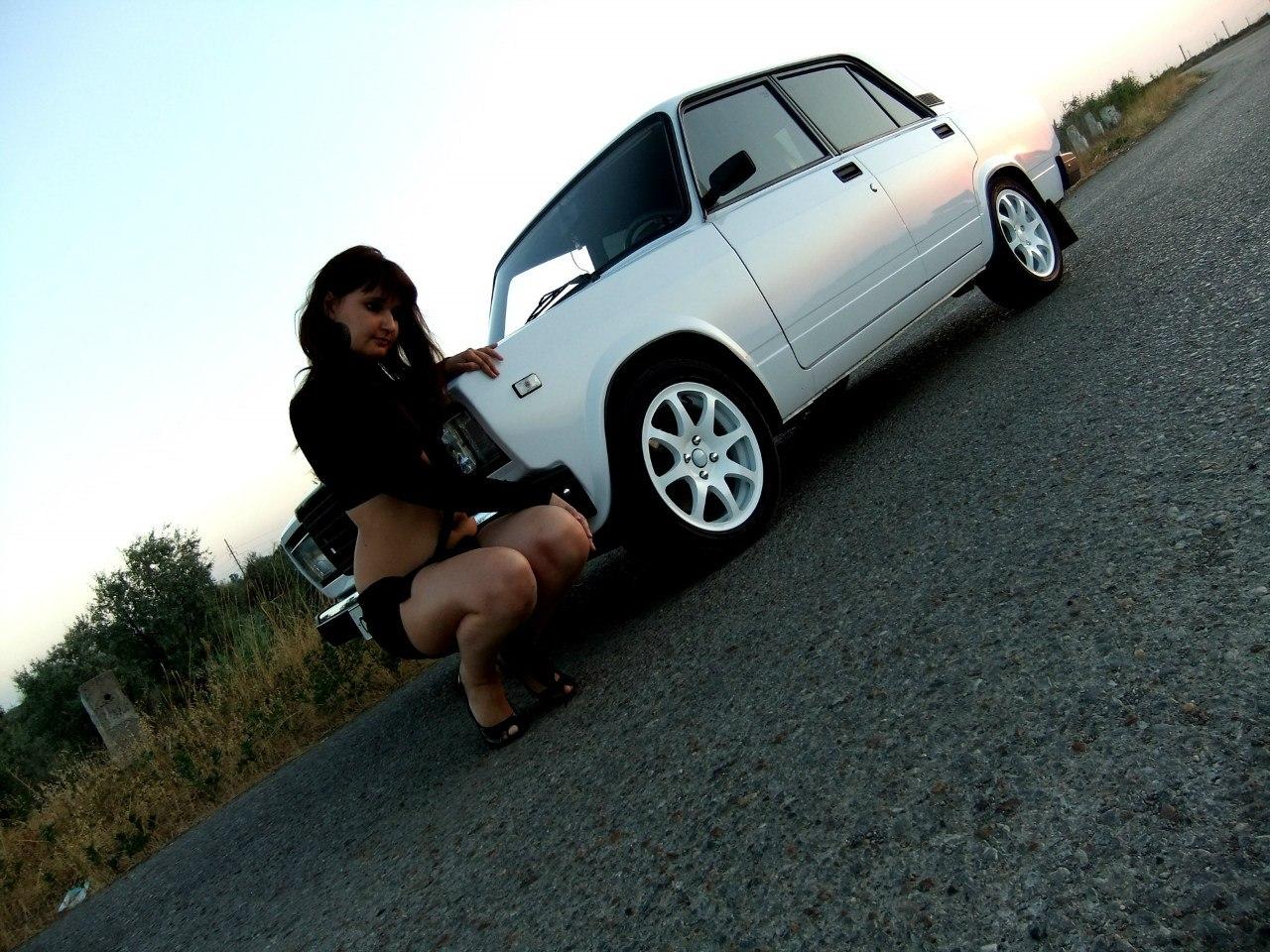 Смотреть бесплатно фото отечественных авто и девушки 1 фотография