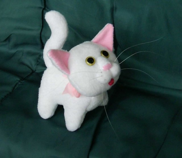 Мягкие игрушки коты сделать